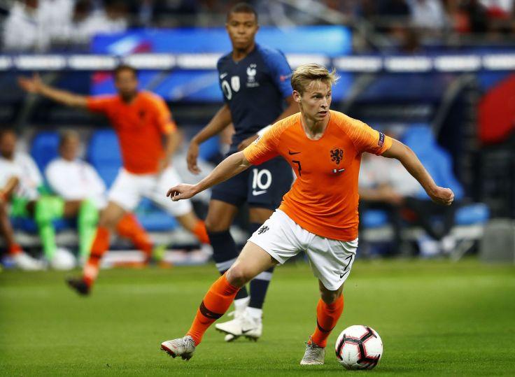 "UEFA Nations League A group 1""France v The Netherlands"""